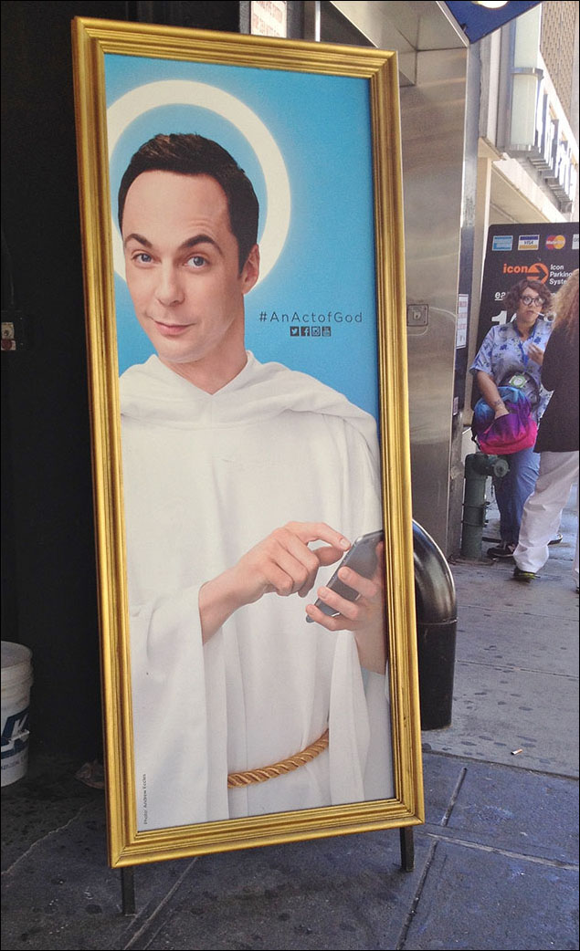 Broadway's An Act of God, Starring Jim Parsons, Greets the Press - Photo - Playbill.com